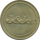 Token - J&J co – obverse