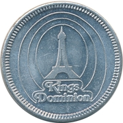 Token - Kings Dominion – obverse