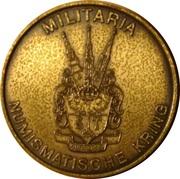 Token - Militaria Numismatische Kring – reverse
