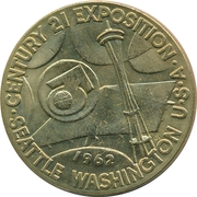 Medal - Space Age World's Fair – obverse