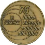 Token - Wesertal-Volkslauf – obverse