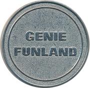 Amusement Token - Genie Funland – obverse