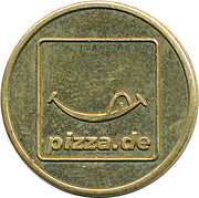 Token - Pizza.de – obverse