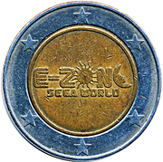 Amusement Token - E-Zone (Sega World) – obverse