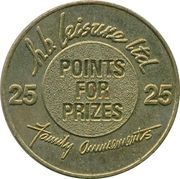 25 Points - H.B. Leysure ltd – obverse