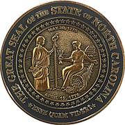 Token - North Carolina Senate – reverse