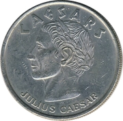 1 Dollar Gaming Token - Ceasars Palace (Atlantic City) – obverse