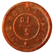 ½ Penny - Royal Arsenal Cooperative Soc Limited – reverse