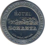 1 Dollar Gaming Token - Hotel Bonanza (Las Vegas, Nevada) – obverse