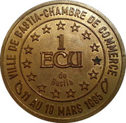 1 ECU - Bastia – reverse