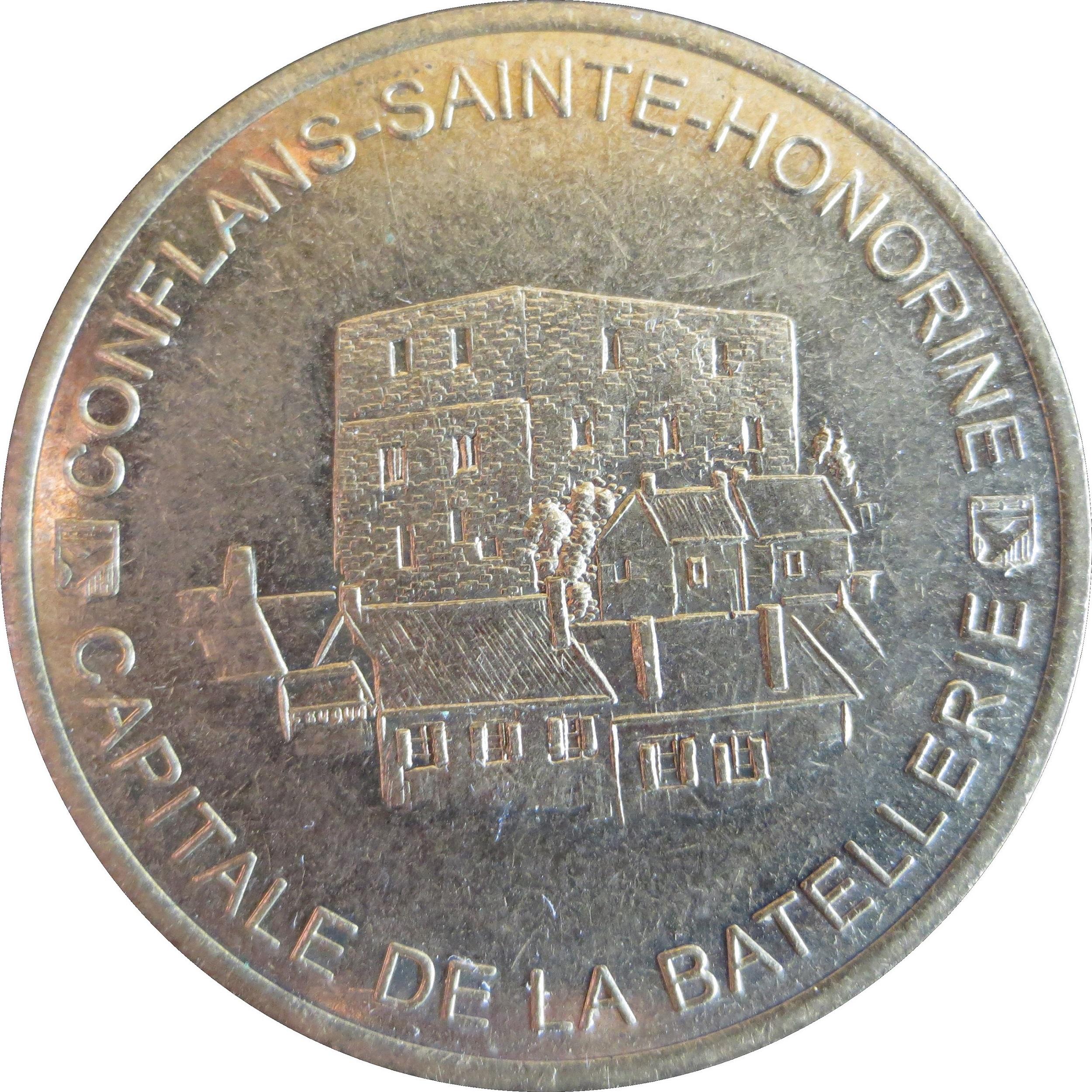 1 ecu conflans sainte honorine tokens numista. Black Bedroom Furniture Sets. Home Design Ideas