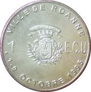 1 ECU - Roanne – reverse