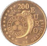 200 Euro (Grenoble) – obverse