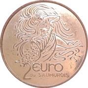 2 Euro (Saumur) – reverse