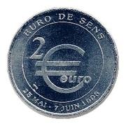 2 Euro (Sens) – obverse