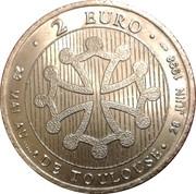 2 Euro (Toulouse) – reverse
