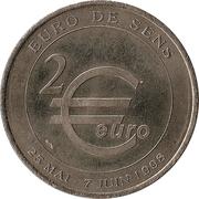 2 euros de Sens [89] -  reverse