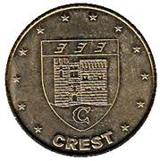 1 euro de Crest [26] – obverse