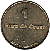 1 euro de Crest [26] – reverse