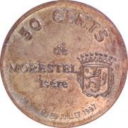 50 Cents (Morestel) – reverse