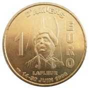 1 Euro (Amiens) – reverse