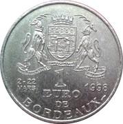 1 Euro (Bordeaux) – reverse