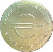 ½ Euro (Roubaix) – obverse