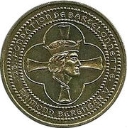 1 Euro (Barcelonnette) – obverse