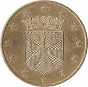 1 Euro (Meudon) – obverse