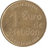 1 Euro (Meudon) – reverse