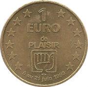 1 Euro (Plaisir) – obverse
