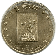 1 Euro (Romans) – reverse
