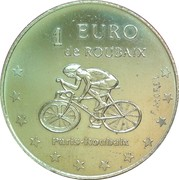 1 Euro (Roubaix) – reverse
