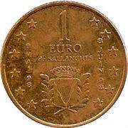 1 Euro (Sallanches) – reverse