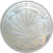 1 Euro (Saumur) – obverse