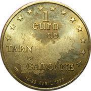 1 Euro (Tarn et Garonne) – reverse