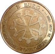 1 Euro (Toulouse) – reverse
