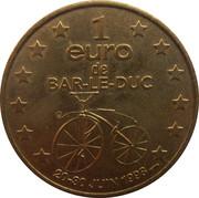 1 Euro Bar-Le-Duc [55] – reverse