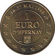 1 Euro d'Epernay (51) – obverse