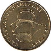 1 Euro d'Epernay (51) – reverse