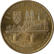 1 euro d'Orléans [45] – reverse