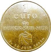 1 Euro de Berck-sur-Mer 59 – obverse