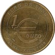 1 euro de Sens [89] – reverse