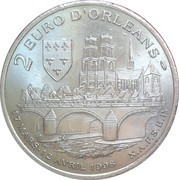 2 Euro (Orléans) – reverse