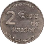 2 Euro (Meudon) – reverse