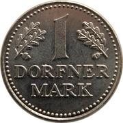 1 Dorfner Mark - Apotheke Dorfner – obverse