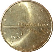 1 Euro (Nancy) – obverse
