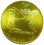 1 Euro (Saint-Brieuc) – obverse