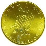 1 Euro (Saint-Brieuc) – reverse