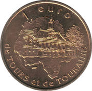 1 Euro (Tours and Touraine) – reverse